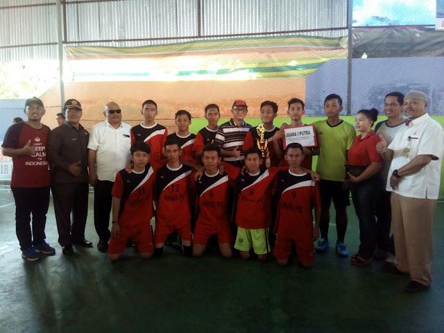 SMA YKPP Borong Juara Turnamen Futsal U-21 se-Kabupaten PALI
