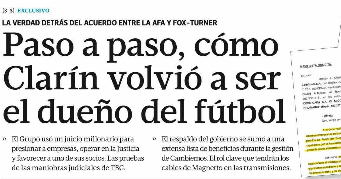 Señales: Edita Tiempo Argentino: Paso a paso, cómo Clarín volvió a ...
