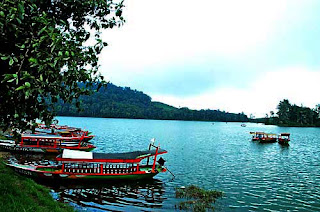 The Situ Patenggang Lake