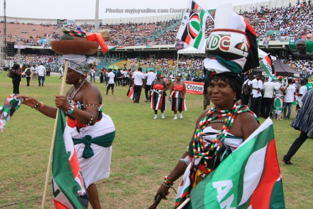 NDC holds final election 2016 rally - LIVE TV