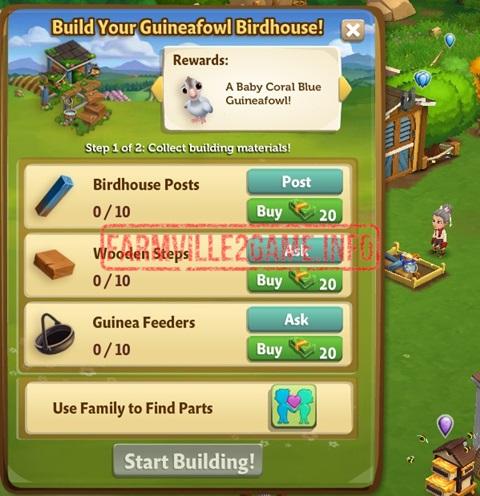 Guniefowl Birdhouse