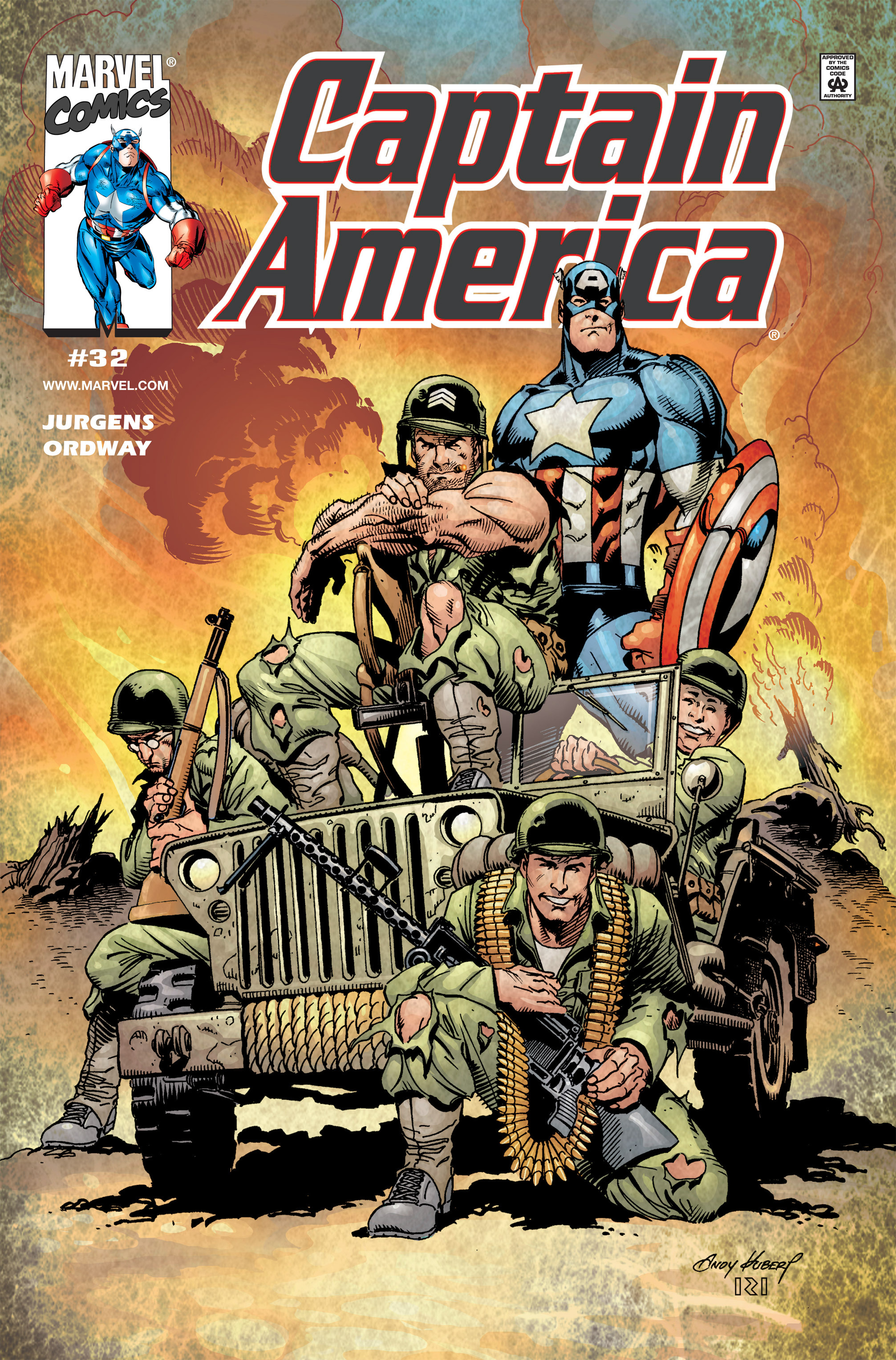 Captain America (1998) 32 Page 1