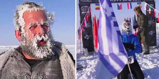 Έλληνας ο πρώτος νικητής του μαραθωνίου στον Βόρειο Πόλο