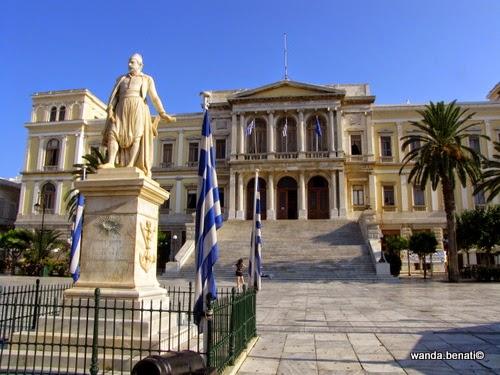 Ermoupolis, palazzo del municipio