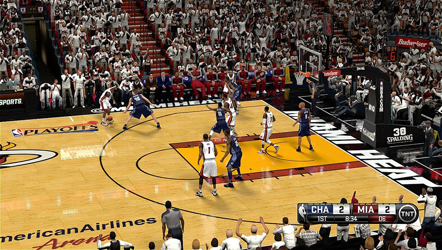 NBA 2K14 Playoffs Court Patch
