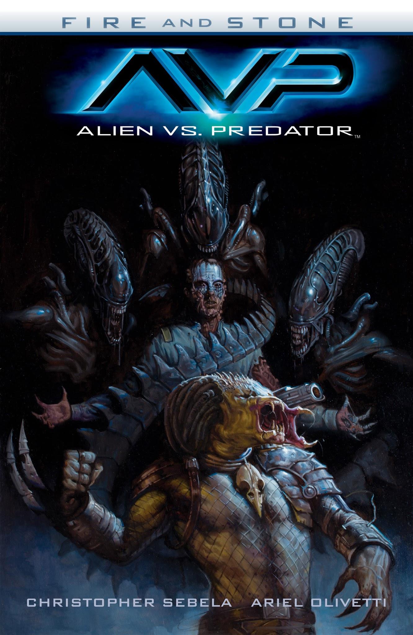 Alien vs. Predator: Fire and Stone _TPB Page 1
