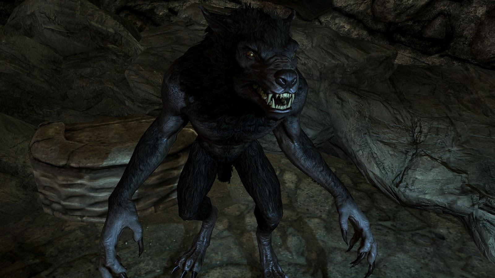 Skyrim Werewolf Lord Wallpaper Rytir