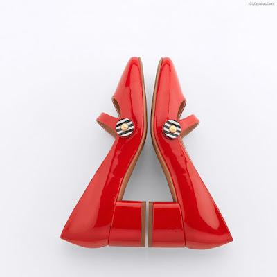 Zapatos Rojos de Fiesta