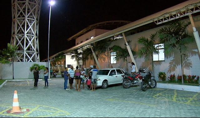 UPA da Caxangá recebeu cinco das vítimas (Foto: Reprodução/TV Globo)