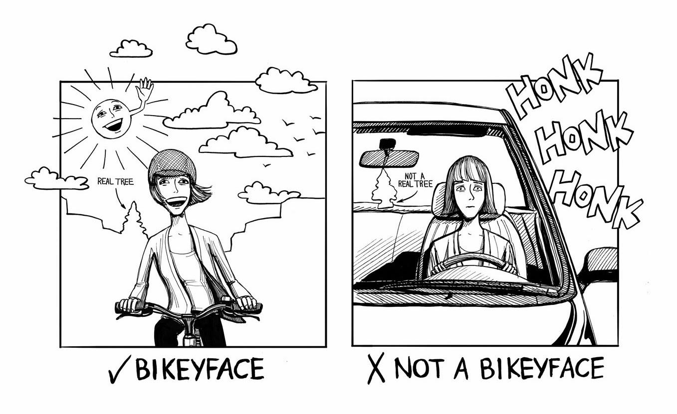 Bikeyface