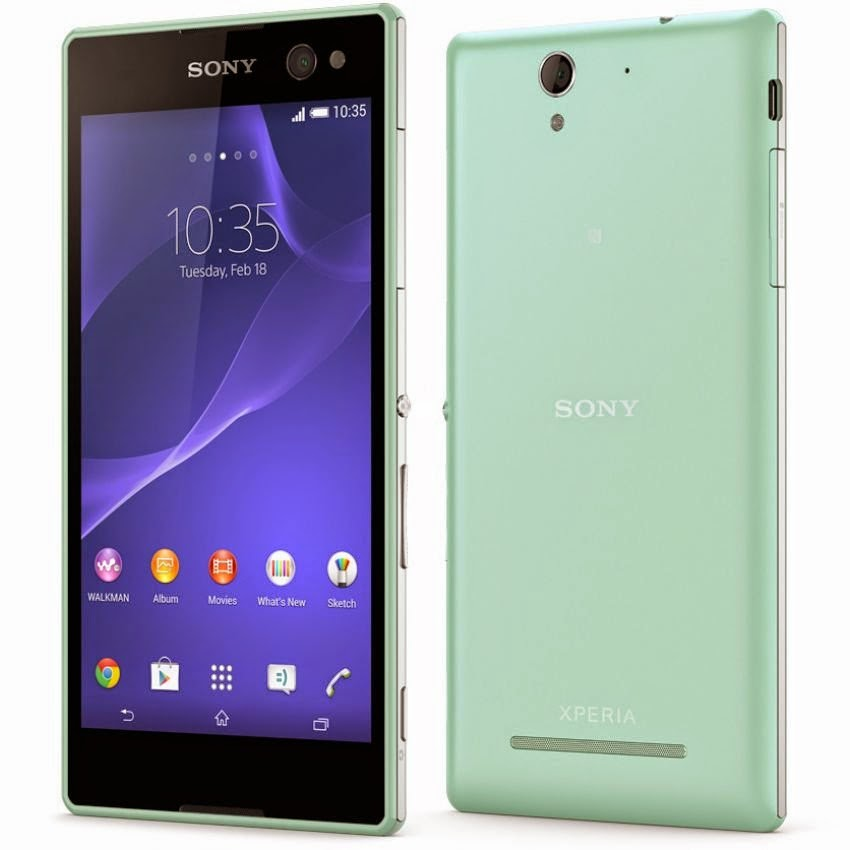 Sony Xperia C3 ProSelfie Specifications Review