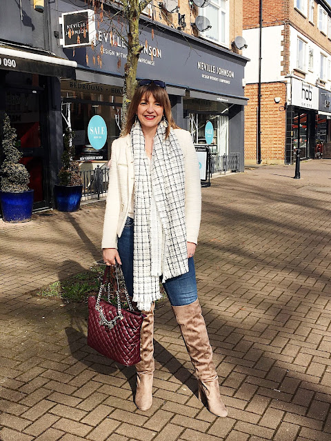 TIPS ON SPRING STYLING YOUR WINTER WARDROBE