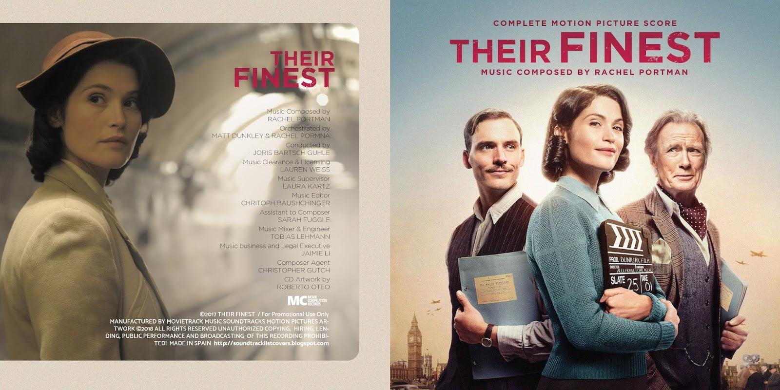 Soundtrack List Covers: Their Finest Complete (Rachel Portman)