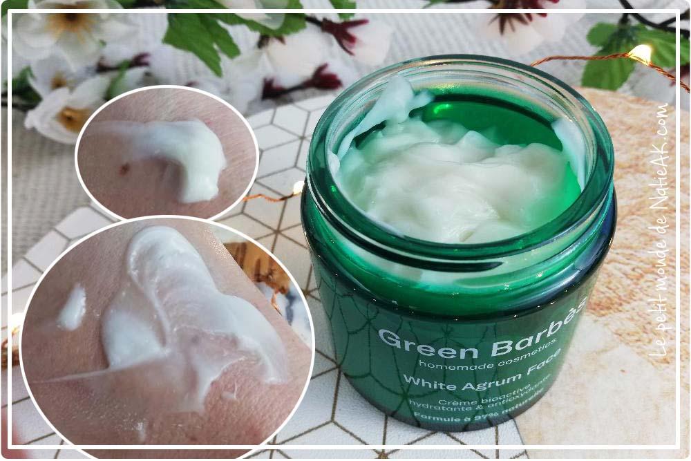 Green Barbès : crème visage hydratante