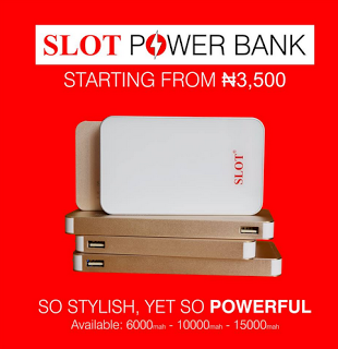 SLOT now Introduces Its Power Bank to Nigerians