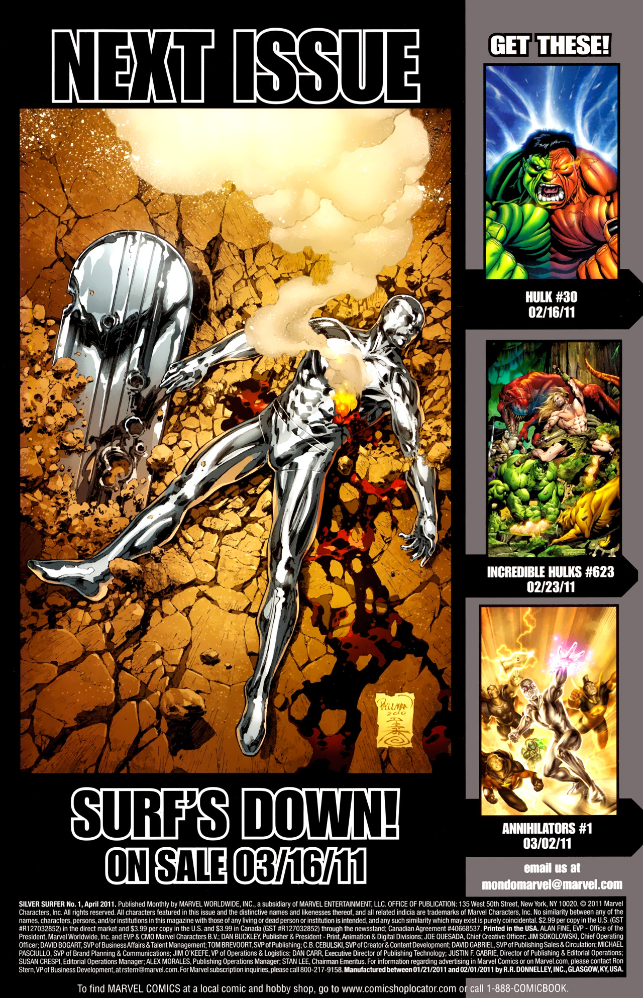 Read online Silver Surfer (2011) comic -  Issue #1 - 24