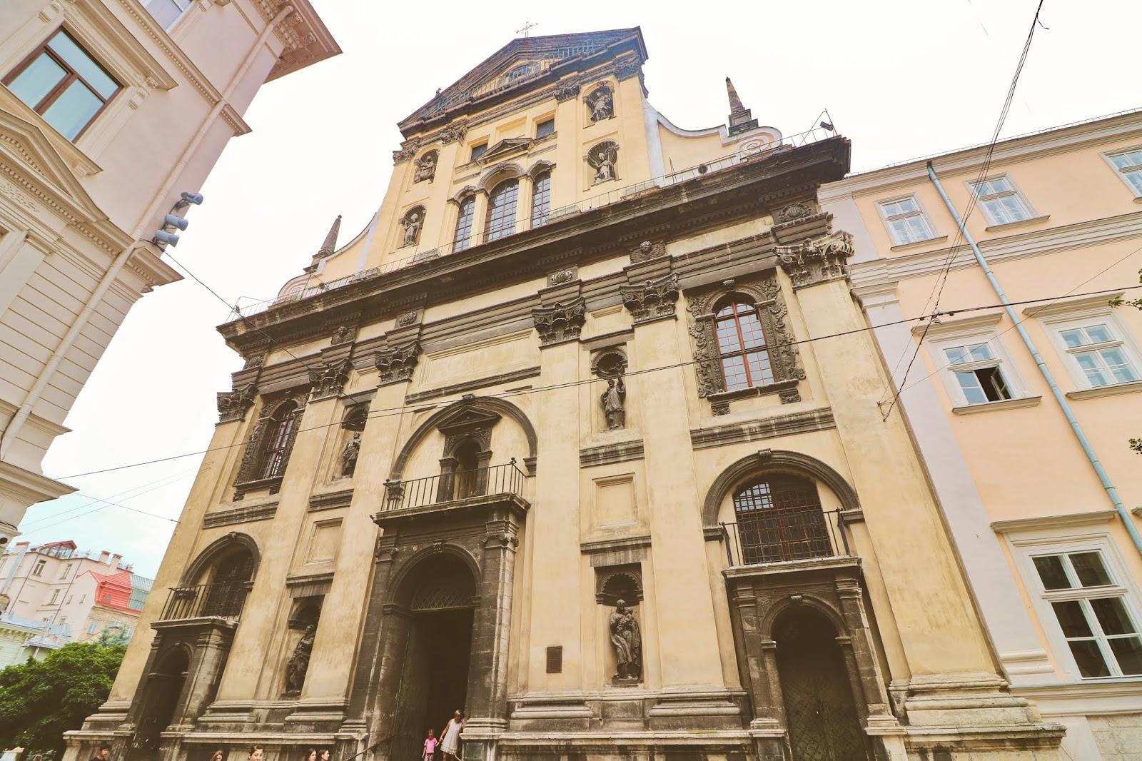 kościół jezuitów lwów