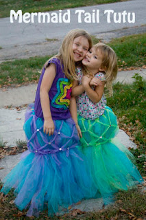 Beautiful DIY Mermaid Tail Tutu for your Special Girl