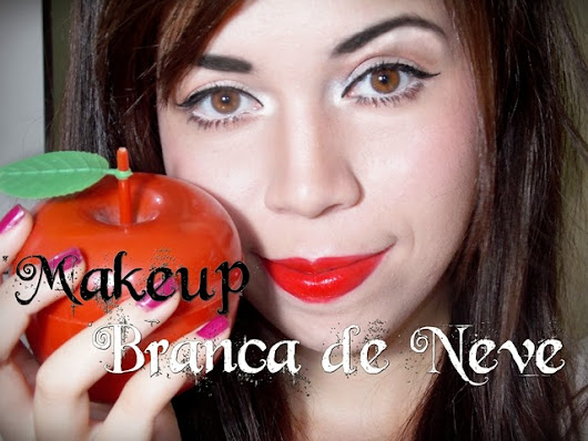 Queen Obscene : Makeup Inspirada na Branca de Neve (Snow White/Disney)