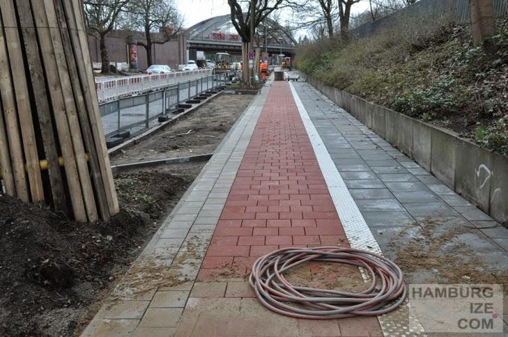 Umbau Fuhlsbütteler Straße