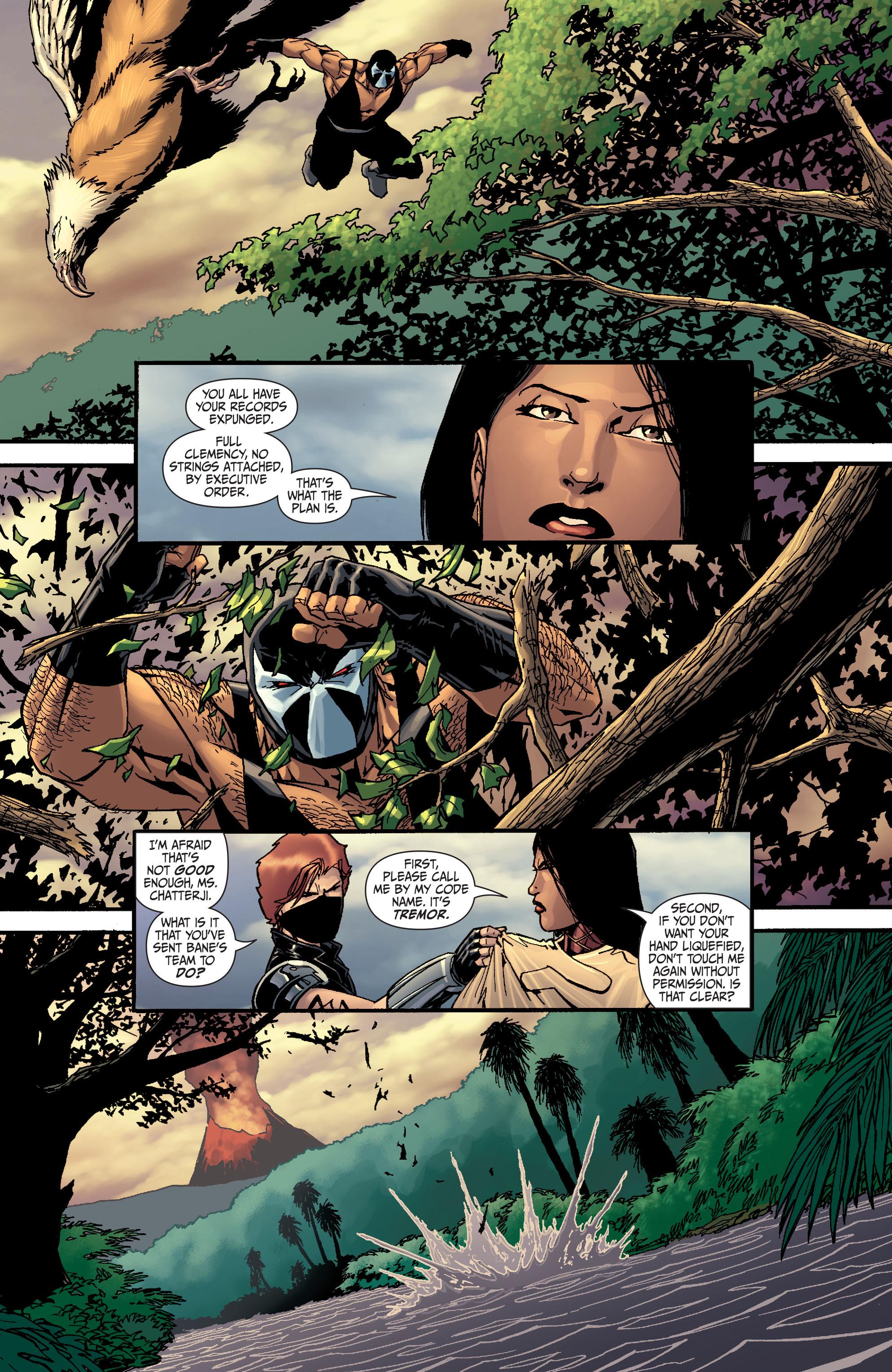 Read online Secret Six (2008) comic -  Issue #25 - 21
