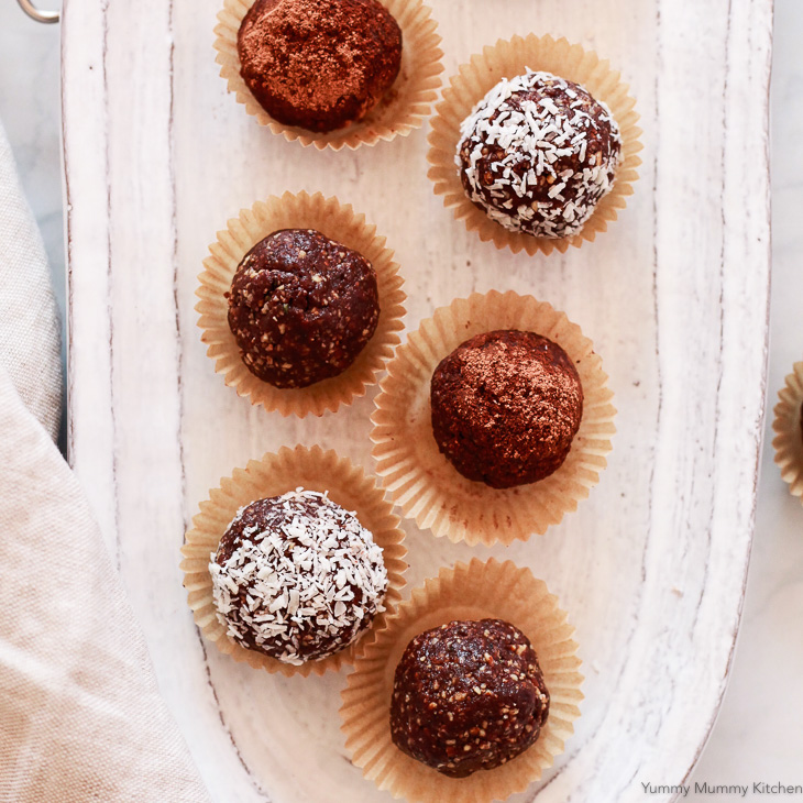 how to make cacao bliss balls
