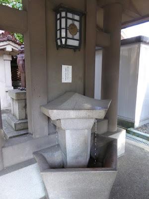 坐摩神社 手水舎