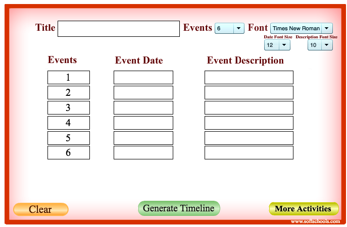 here is a great tool for creating educational timelines with