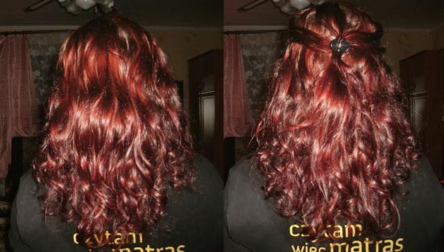 Przenawilżenie włosów po raz drugi + życzenia na Nowy Rok :)