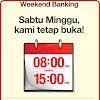 Lihat Nih..!!! Alamat Weekend Banking Bank Danamon Sabtu-Minggu Buka