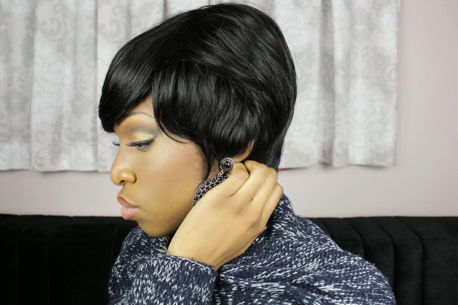 .: Les secrets de ma coupe courte... Une Perruque!