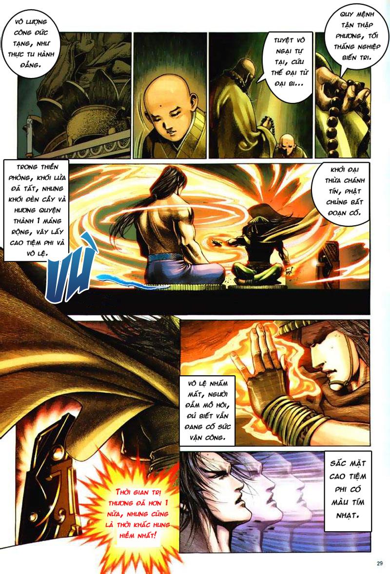 Anh hùng vô lệ Chap 6: Anh hùng hữu lệ trang 29