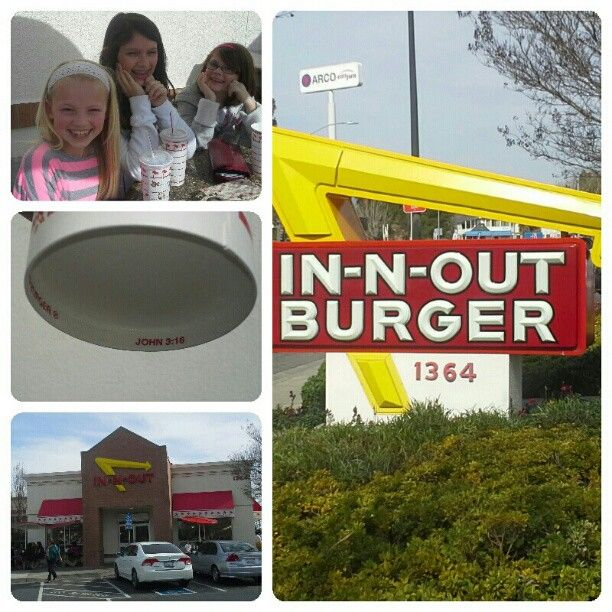The Cozy Corner: Jelly Belly Factory and In-N-Out Burger