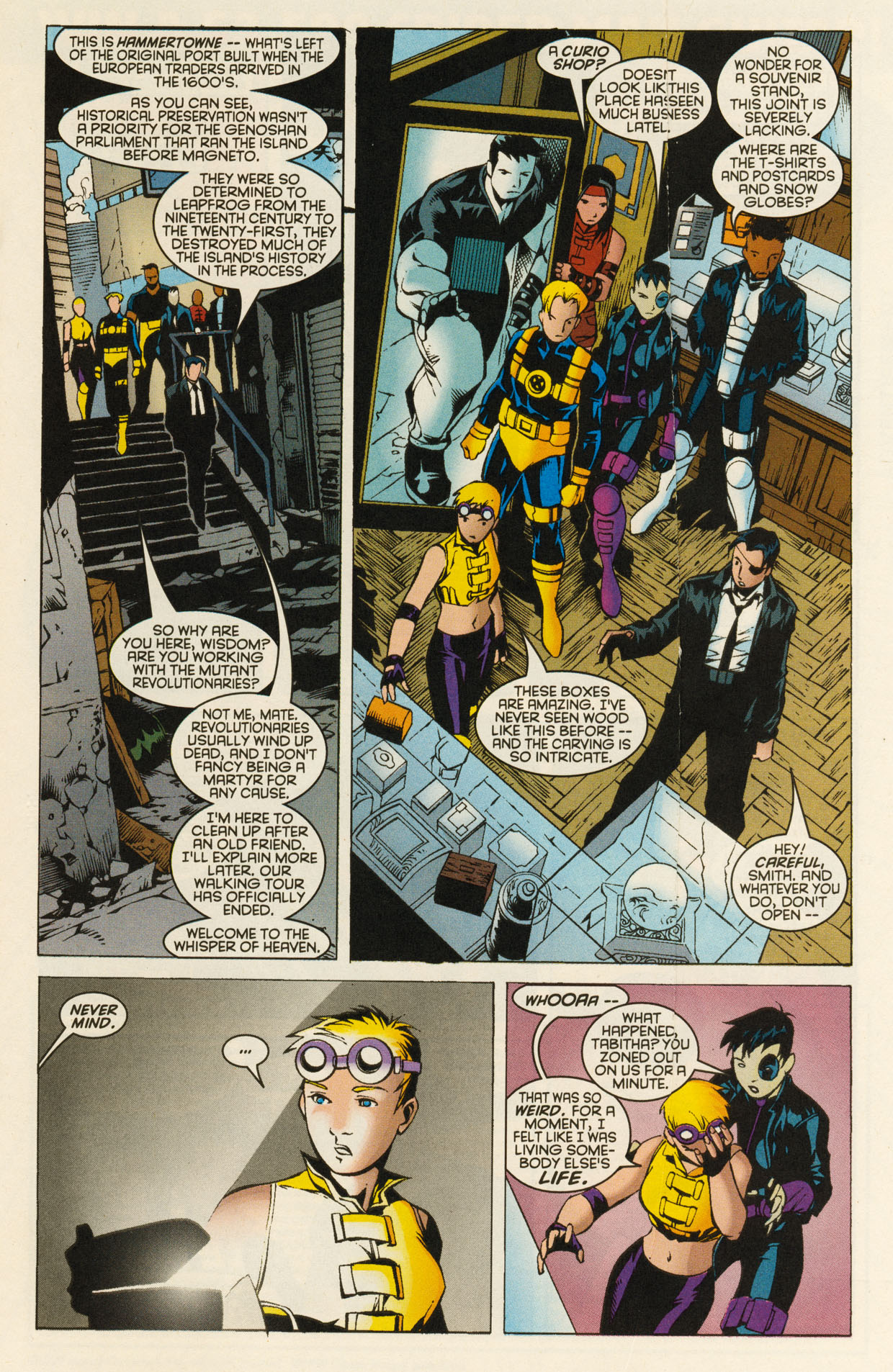 Read online X-Force (1991) comic -  Issue #94 - 11