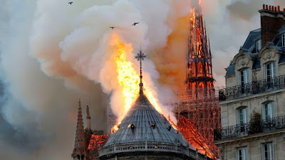 Notre Dame Cathedral Fire incident 2019