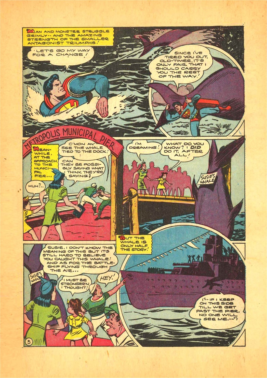 Read online Action Comics (1938) comic -  Issue #68 - 6