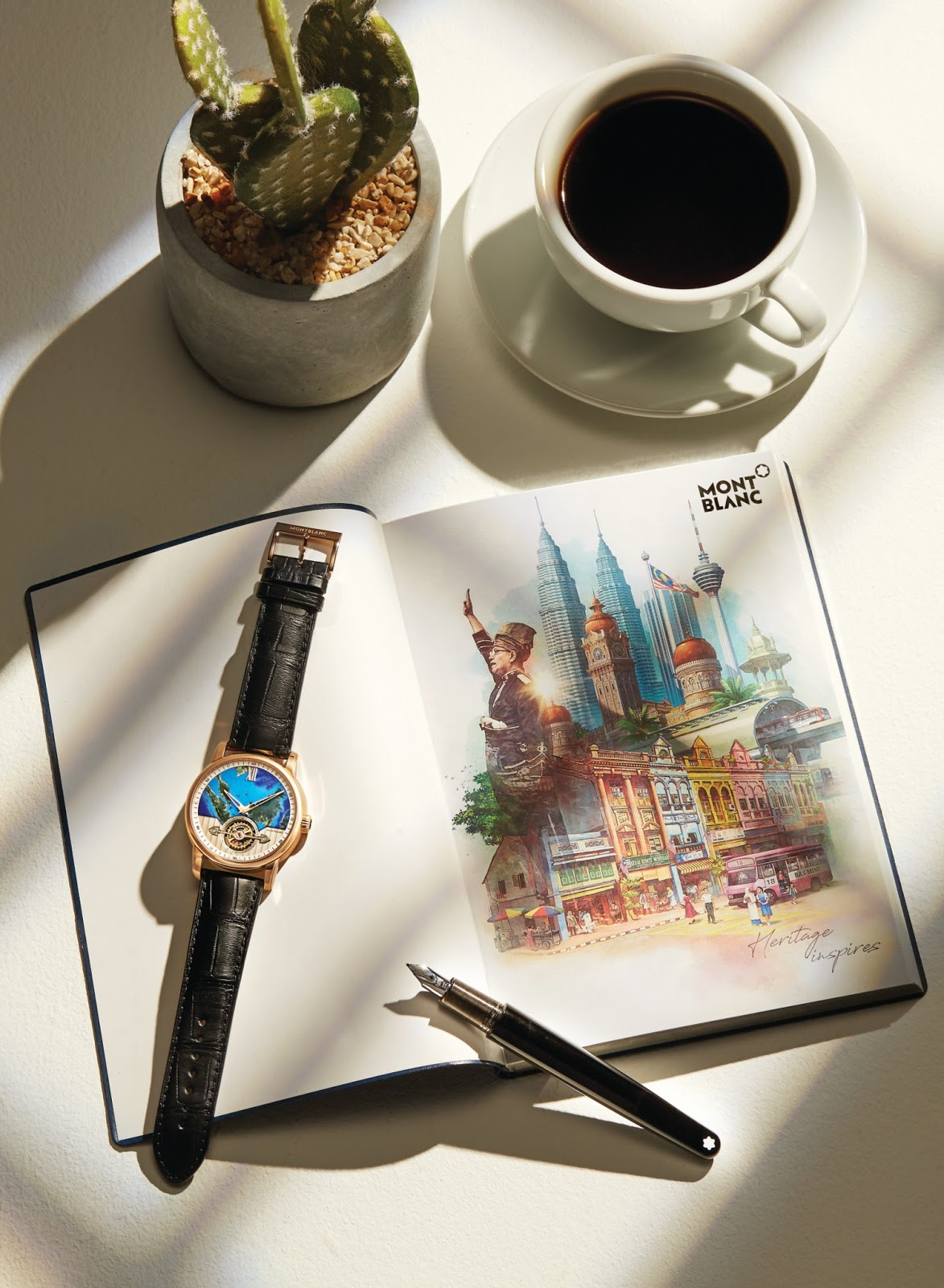 Montblanc's Limited Edition Malaysia 60 Commemorative Collection