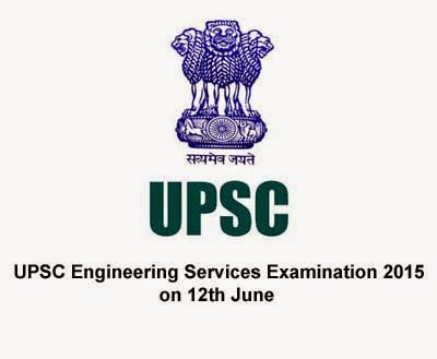 UPSC Engineering Services Examination 2015 on 12th June