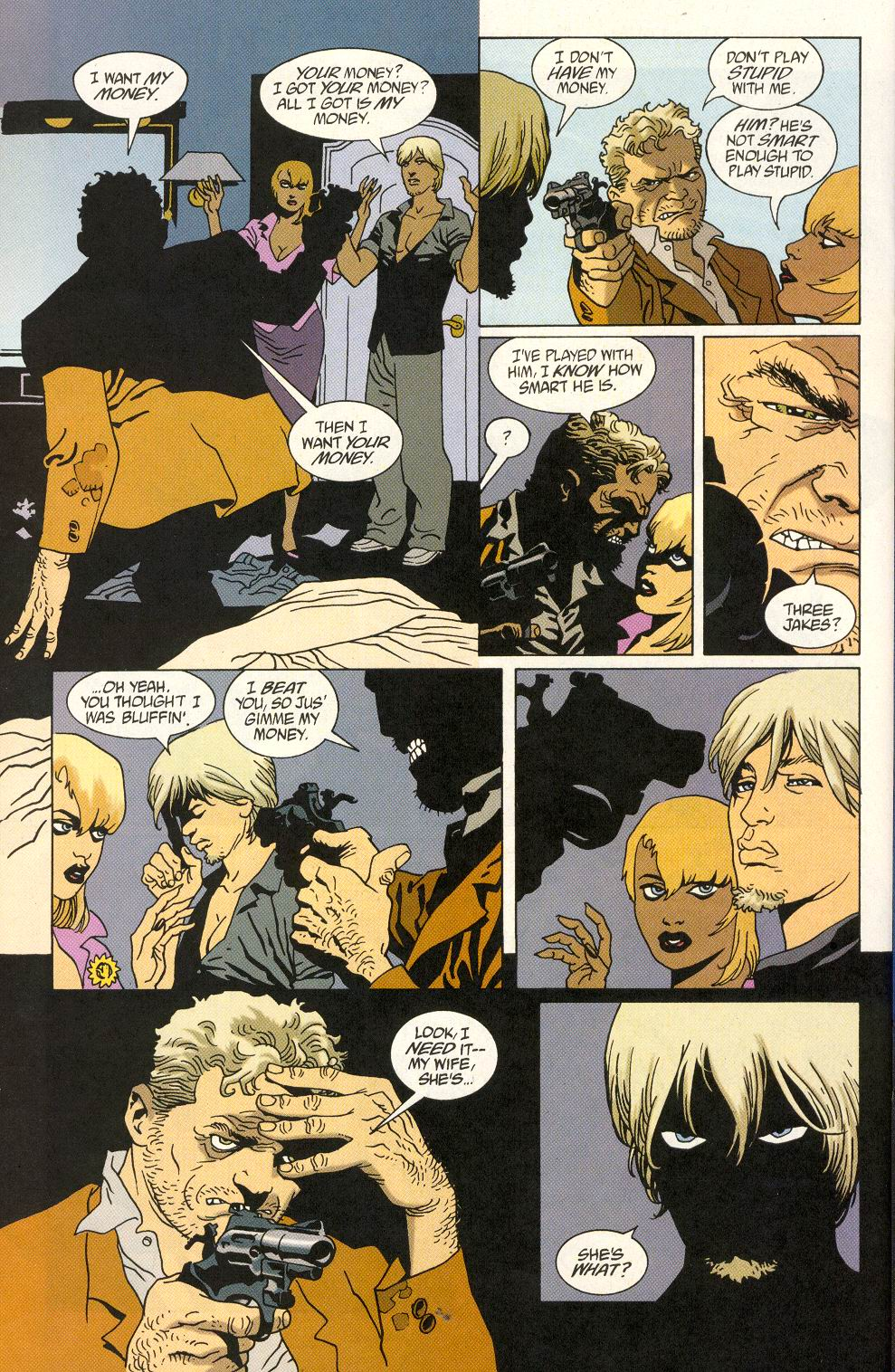Read online 100 Bullets comic -  Issue #25 - 16