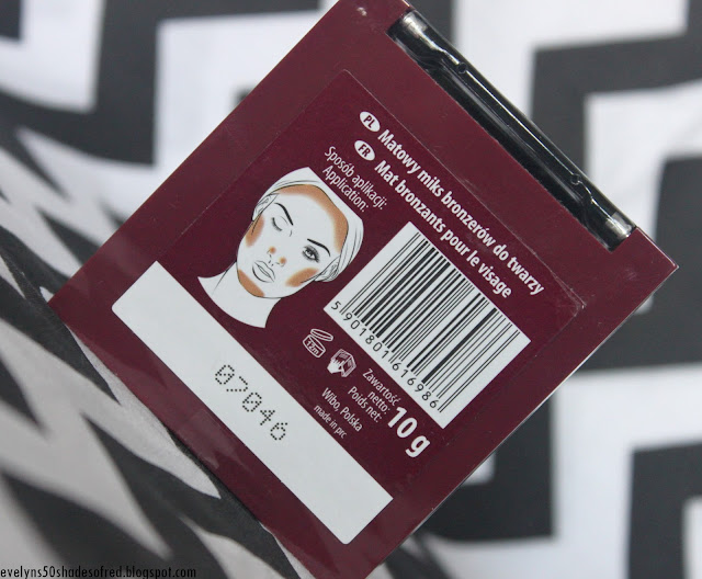 Wibo Matte Mix, bronzer do konturowania twarzy