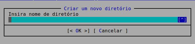 criar diretorio no ubuntu com o mc