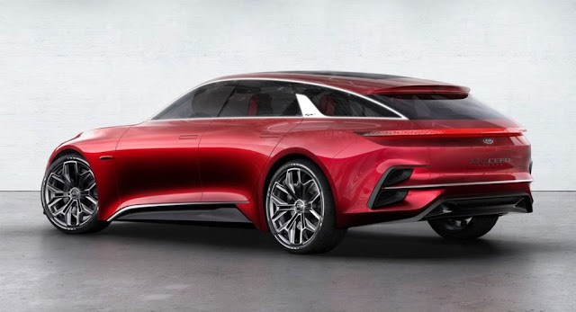 Concepts, Kia, Kia Cee'd, Kia Concepts, Paris Auto Show, Reports