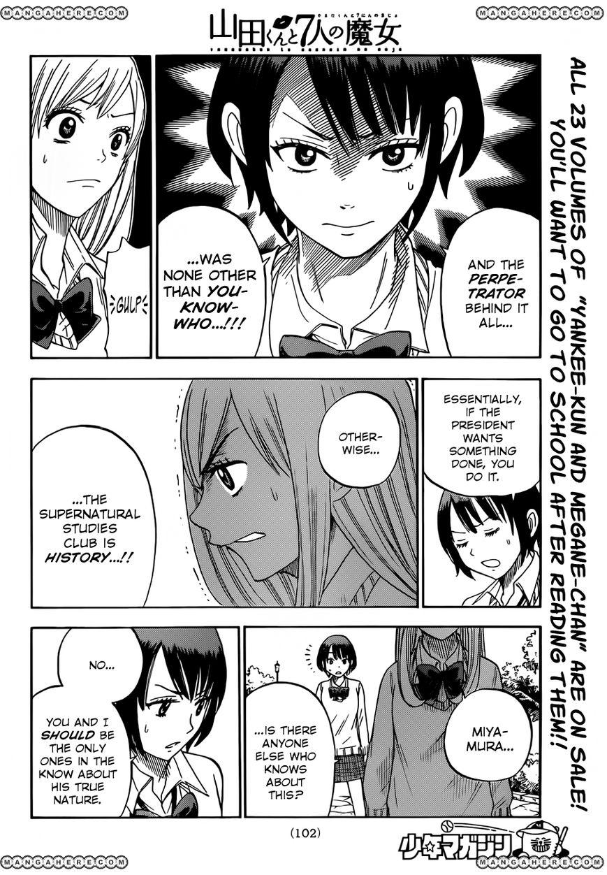 Yamada-kun to 7-nin no Majo 12
