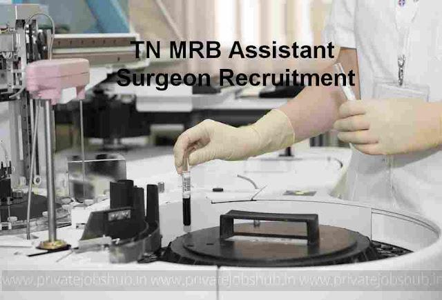 TN MRB Assistant Surgeon Recruitment
