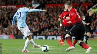 [Goals Highlight] Man United 0 – 2 Manchester City (Watch Here )