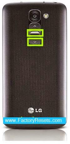 Hard Reset LG G2 mini LTE