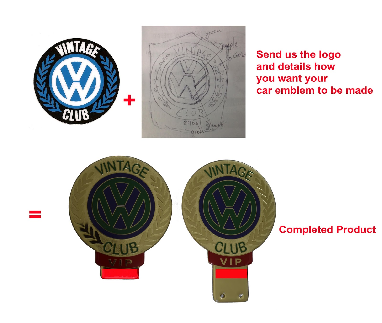 Custom make vip car badges vip car crown your own design vip car badges your company logo car badges malaysia vip car crown vip malaysia car emblem