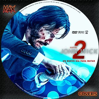 John Wick 2 Galleta Maxcovers