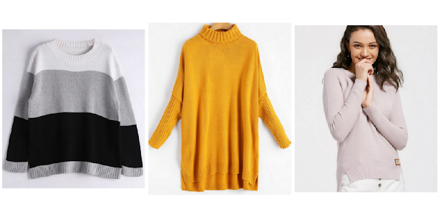 My Zaful Sweater Wishlist