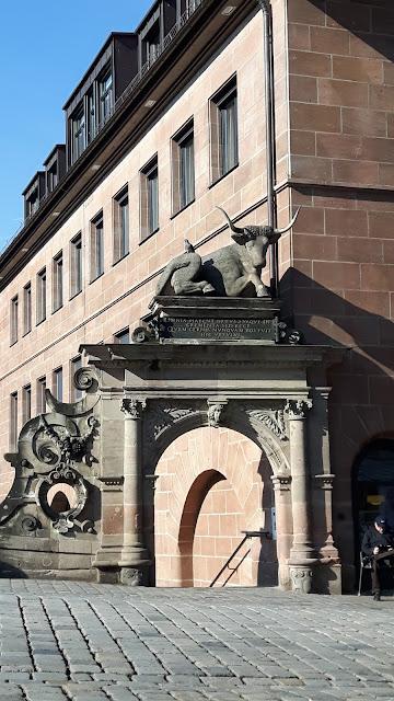 Architecture detail Nuremberg